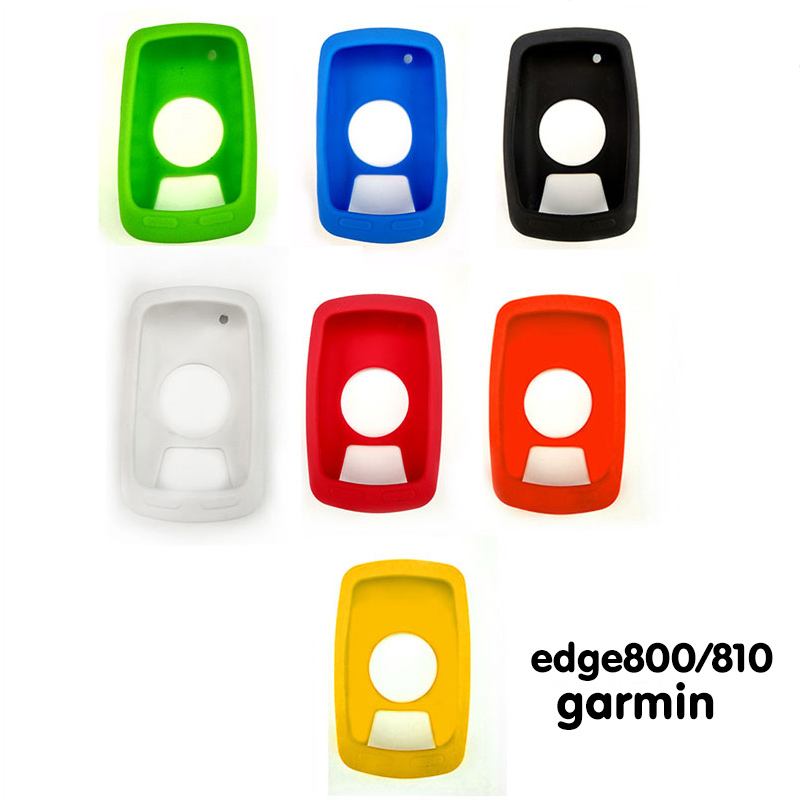 Silicone Gel Skin Case Cover for <font><b>Garmin</b></font> edge <font><b>520</b></font>/800/810/1000 <font><b>GPS</b></font> Bicycle Computer image