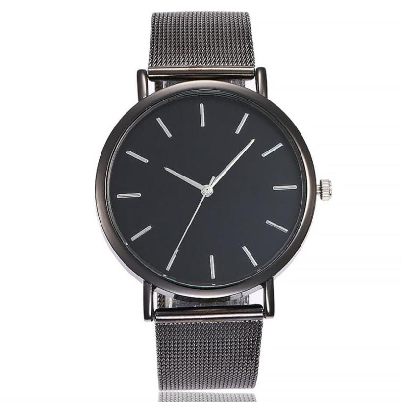 Best Sale 2018 Fashion High Quality Popular Watch  Casual Quartz Stainless Steel Band Marble Strap Watch Analog Wrist Watch