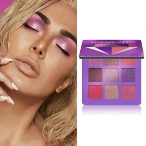Image 3 - 9 renk göz farı paleti pırıltılı mat hediye göz farı kozmetik Glitter mat göz farı kalıcı çıplak pırıltılı makyaj göz