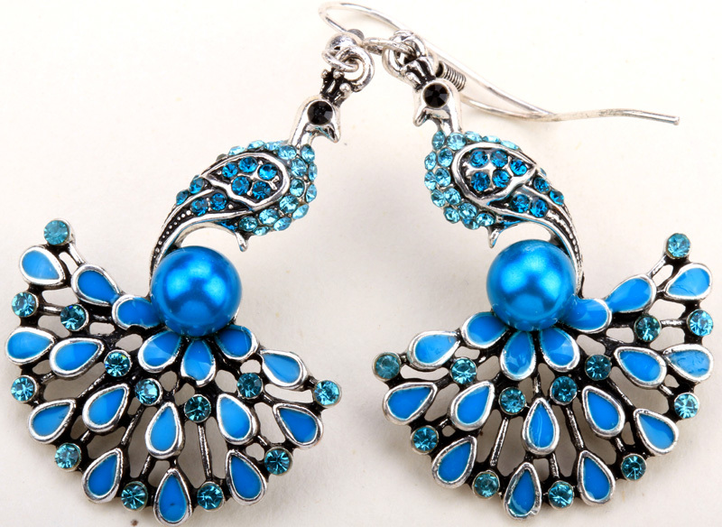 best jewelry dropshippers aliexpress buy peacock dangle earrings for 3868