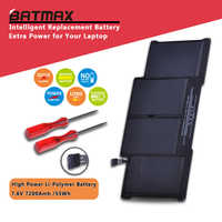 """7.3V 50wh Laptop A1405 Battery for Apple Macbook Air 13"""" inch A1405 A1377 A1369 Late 2010 Mid 2011 2013 Early 2014 2015"""