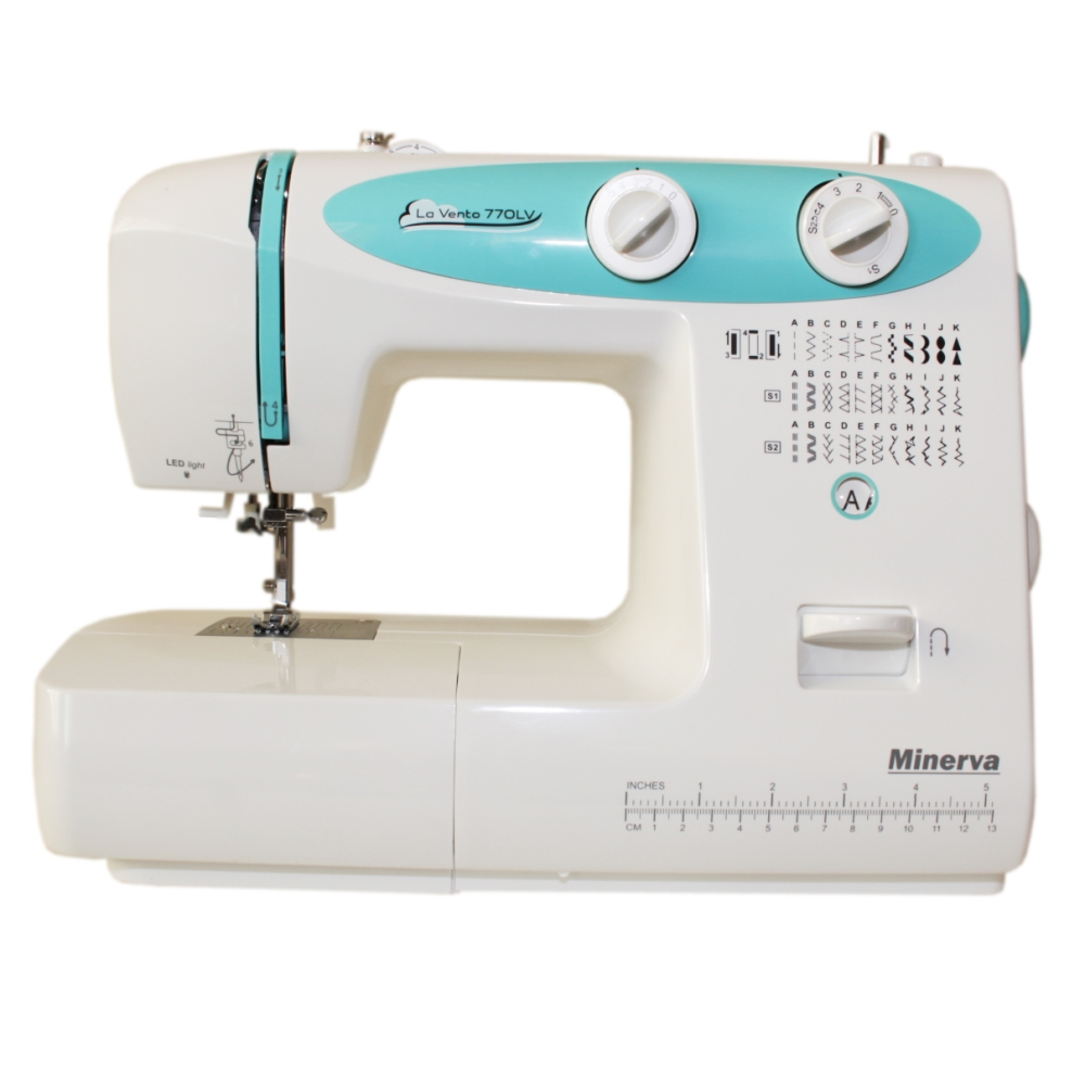 Sewing machine Minerva La Vento 770LV 32 operations stitch Length 4mm, Width 5mm, backlight) sewing machine minerva indi 219i