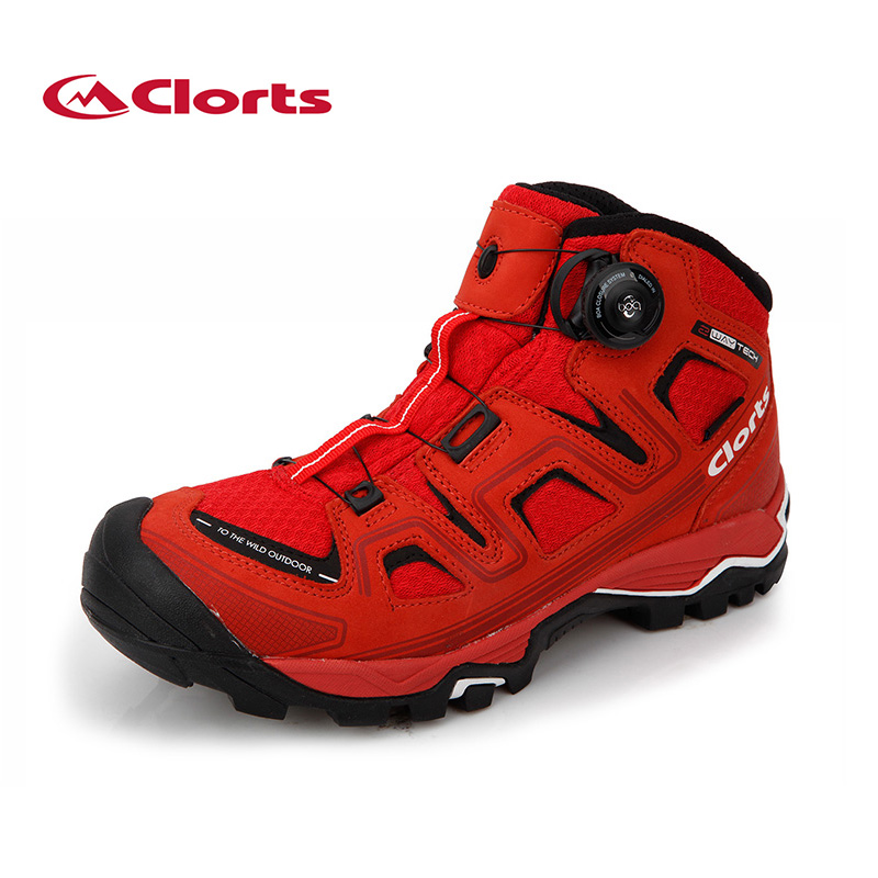 2017 Clorts Hiking Boots BOA Shoes Fast Lacing System