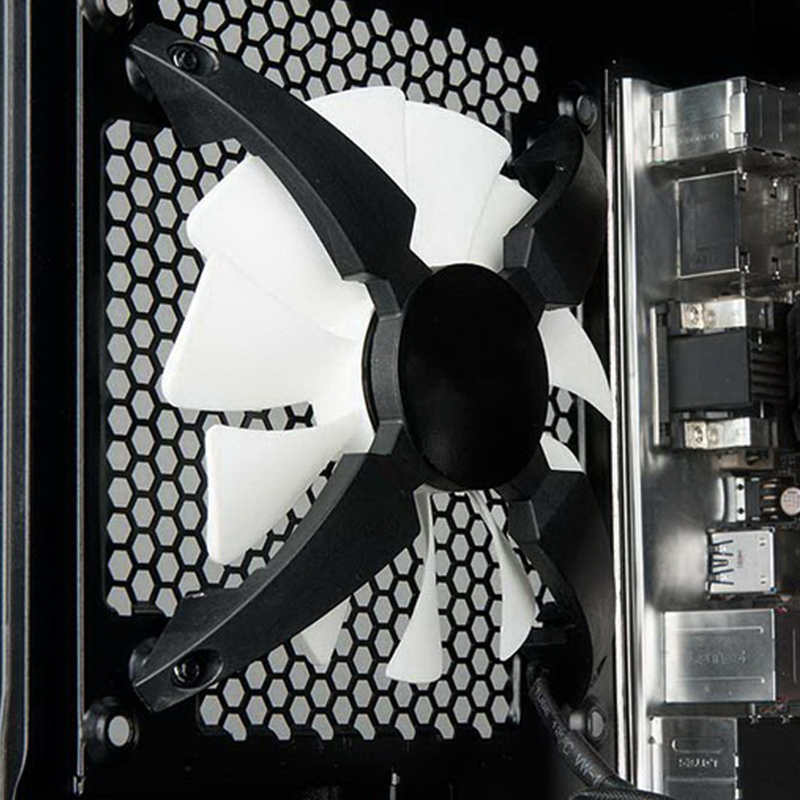 Newest White PRO 120*120*25 mm Cool LED Backlight PWM Chassis Fan Desktop Computer Case MOD Cooling Water Cooling Fans 12CM 80 80 25 mm personal computer case cooling fan dc 12v 2200rpm 45cm fan cable pc case cooler fans computer fans