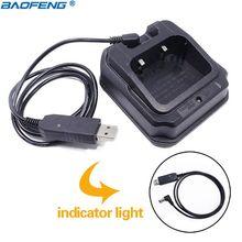 Baofeng UV 9R USB ベースの充電器のためのトランシーバー pofung UV XR A 58 UV 9R プラス GT 3WP UV 5S UV9R UVXR