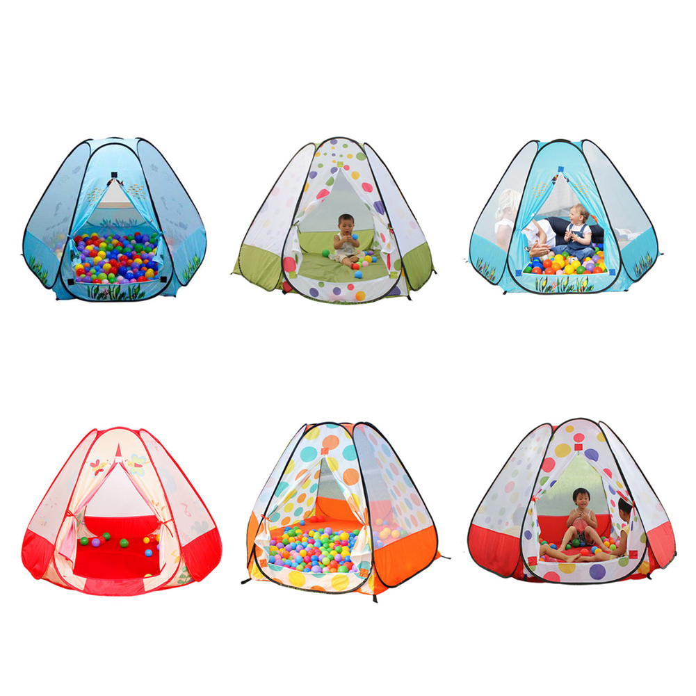 Crib tents for babies - Children Beach Tent Kids Ocean Ball Pit Pool Baby Toy Bedding Crib Netting Game Play Tent