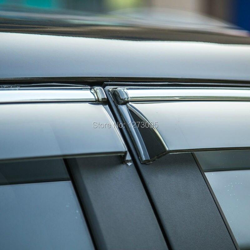 For 2014 2015 Nissan X trail X Trail Xtrail Rogue T32 Window Visor Vent Shades Sun
