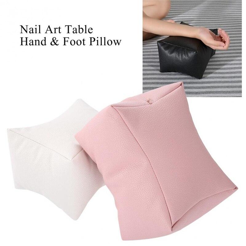 Nail Art Kissen Professional Weiche Hand Ruht Salon Hand Kissen Halter Pu Leder Arm Rest Make-up Maniküre Pflege Nagel Werkzeuge Schönheit & Gesundheit