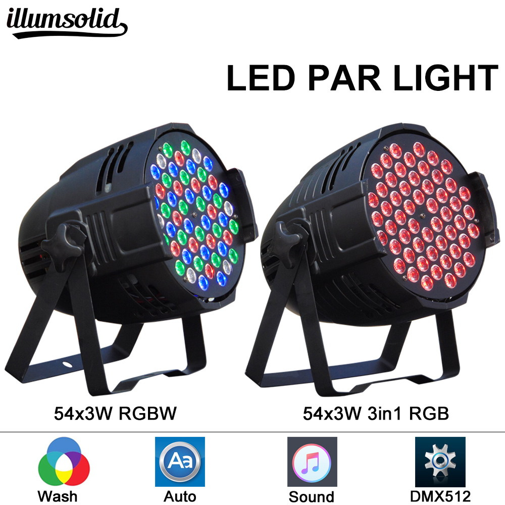 LED Par 64 54*3w light stage disco dj event Christmas decoration light event