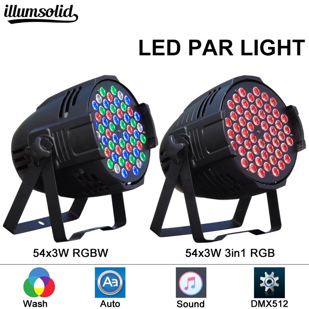 LED Par 64 54*3w Light Stage Disco Dj Event Christmas Decoration Light