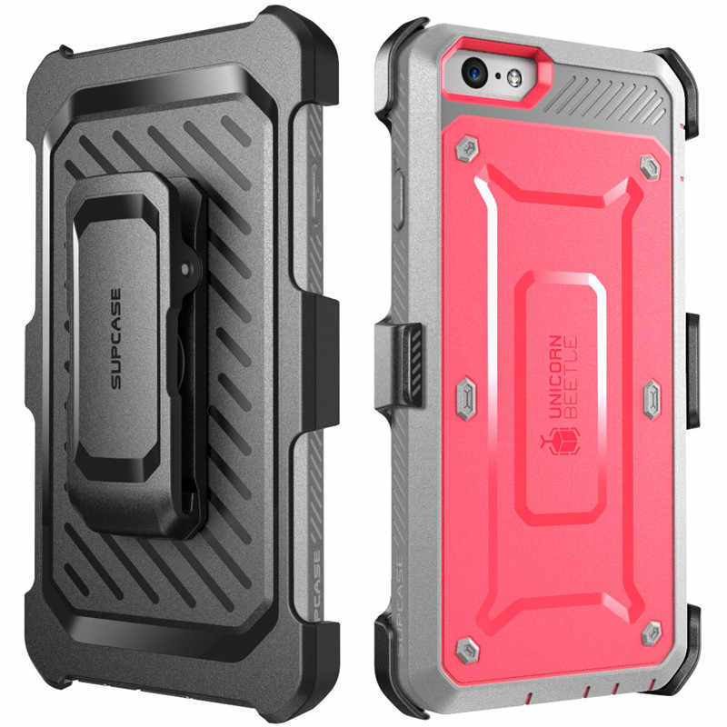 SUPCASE For iphone 6s Plus Case UB Pro Full-Body Rugged Holster Clip Back Cover with Built-in Screen Protector For iPhone 6 Plus