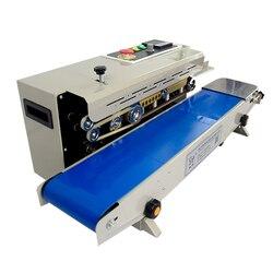 Auto Continuous Film Sealing Machine Plastic Bag Package Band Sealer Horizontal PVC Membrane Bag Heating Packer FR-770