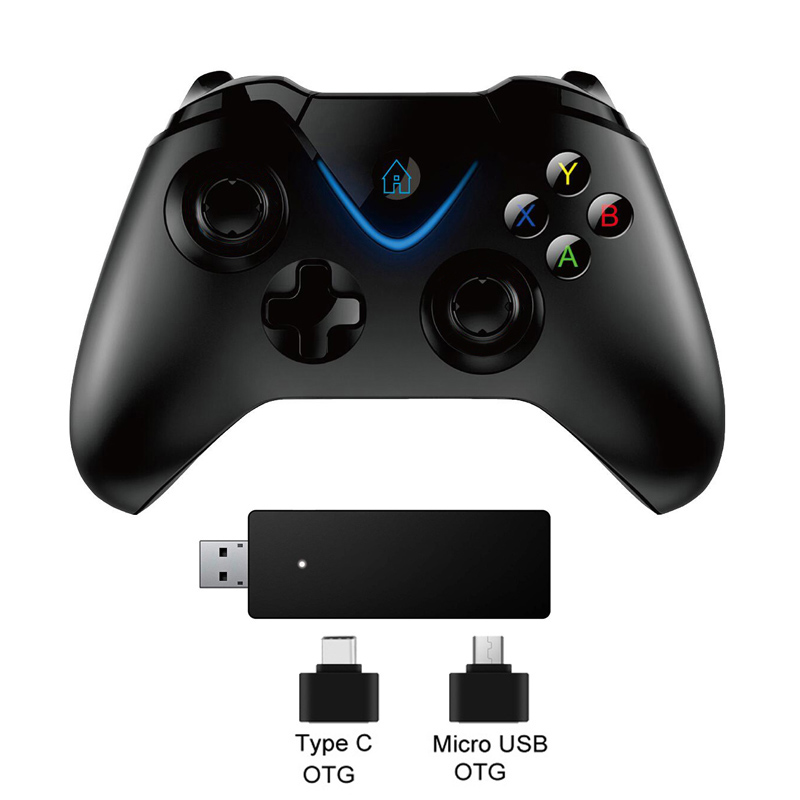 Us 25 57 30 Off 2 4g Wireless Controller Gamepad For Xbox One Control For Ps3 For Pc For Android Phone For Xbox One S X Console Joystick In Gamepads