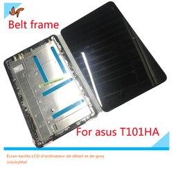 Dla ASUS Transformer Book T101HA T101H pełny ekran LCD wyświetlacz + ekran dotykowy digitizer z ramki granicy w celu uzyskania w Ekrany LCD i panele do tabletów od Komputer i biuro na