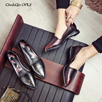 Chi Cho Genuine Leather Women Walking Driving Loafers Flats Boat Shoes Fashion Flower Solo Summer Spring