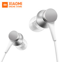 Original Xiaomi Mi Piston 3 Earphone In-Ear Fresh Youth Version 3.5mm Wire Control Earphone 1.4m Music Stereo Mic For Smartphone(China)