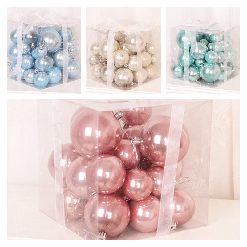 37pcs Christmas Xmas Tree Ball Bauble Hanging Home Party Ornament Decor Packaging Christmas Merry Christmas Decoration