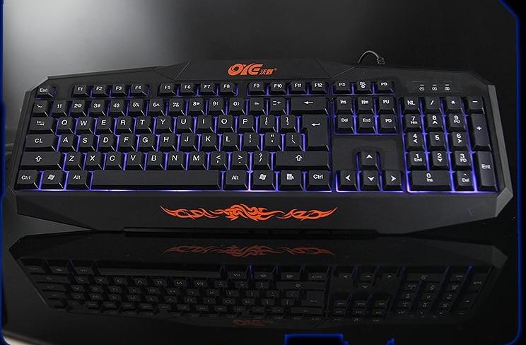 k120 backlight gaming keyboard