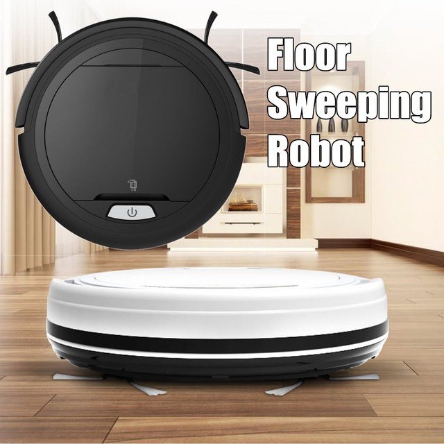 R$ 724 31 |Aliexpress com: Compre 7 5cm Height Clean Robot Mini Wireless  Aspirador Full automatic floor sweeping robot with 2 Side Brush and Big