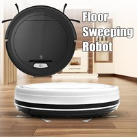 7.5cm Height Clean Robot Mini Wireless Aspirador Full automatic floor sweeping robot with 2 Side Brush and Big Suction Power