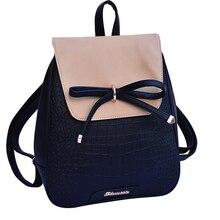 Mini Shool Backpack Women School Bags For Teenage Girls Kawaii Bow Rucksack Small Bagpack Girl Sac A Dos Female Mochila