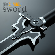 Japan Black  Sword Art Online  Elucidator Kirigaya Cosplay Kazuto Sabre Favorite Cartoon Characters And Equipment Souvenirs