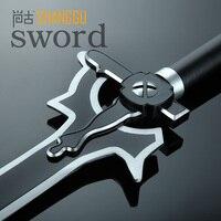 Nhật bản đen sword nghệ thuật trực tuyến elucidator kirigaya cosplay kazuto sabre yêu thích nhân vật hoạt hình và thiết bị quà lưu niệm