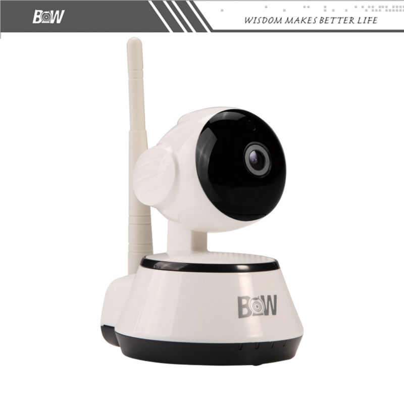 Security IP Camera Wi-Fi Alarm Sensor APP Remote Control Surveillance Wireless IP Camera WiFi Onvif Baby Monitor BW014 wifi surveillance camera ip onvif infrared motion sensor alarm security remote control network wireless ip camera wi fi
