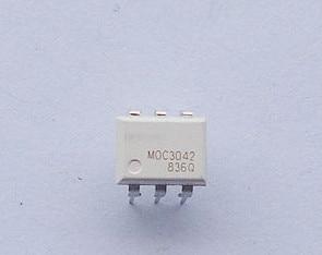 5//10PCS MOC3043 DIP-6 ZERO-CROSS OPTOISOLATORS TRIAC DRIVER IC NEW