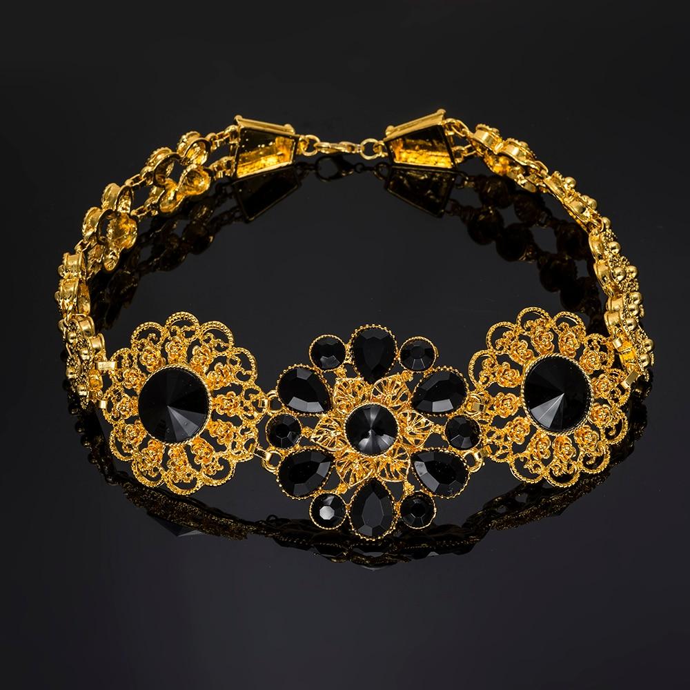 BAUS Nigerian wedding african beads Jewelry set Woman Fashion Dubai Gold Color Jewelry Sets Wholesale Design bridal jewelry sets