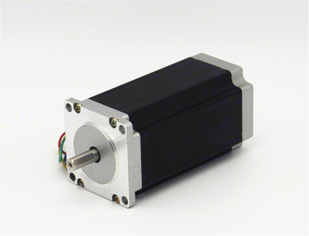 1.8deg name 23 425 oz-in Dual shaft stepper stepping motor/3.0A 4 Leads CNC Router Laser Grind Foam