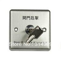 Aço inoxidável guarda entrada botão de emergência  interruptor de chave  botão de emergência  guarda de entrada interruptor de chave  806E