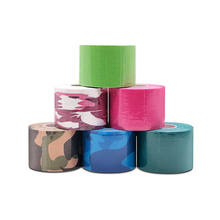 15 color 1-15pcs/set 5cm x 5m sports kinesiology Tape pads Elbow Muscle Sticker Cotton Elastic Adhesive Bandage Care A