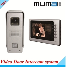 Fast shipping!7″TFT LCD Monitor Colour Video Door Phone Intercom System +700TVL Waterproof Doorbell Outdoor Security Camera