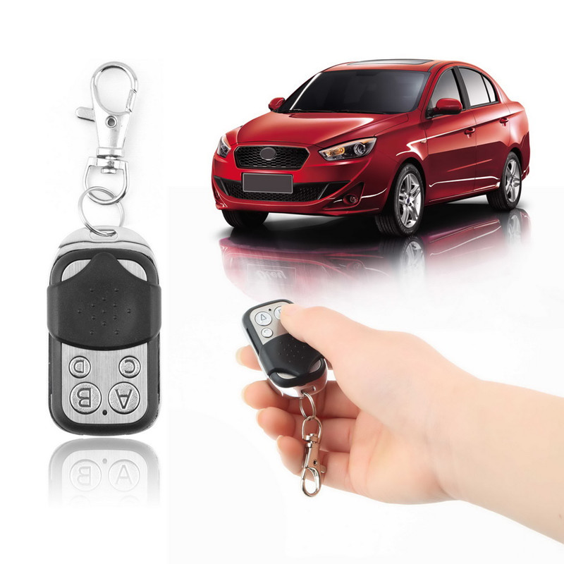 Hot Worldwide 1pcs Electric Cloning Universal Gate Garage Door Control Fob 433mhz Key Fob