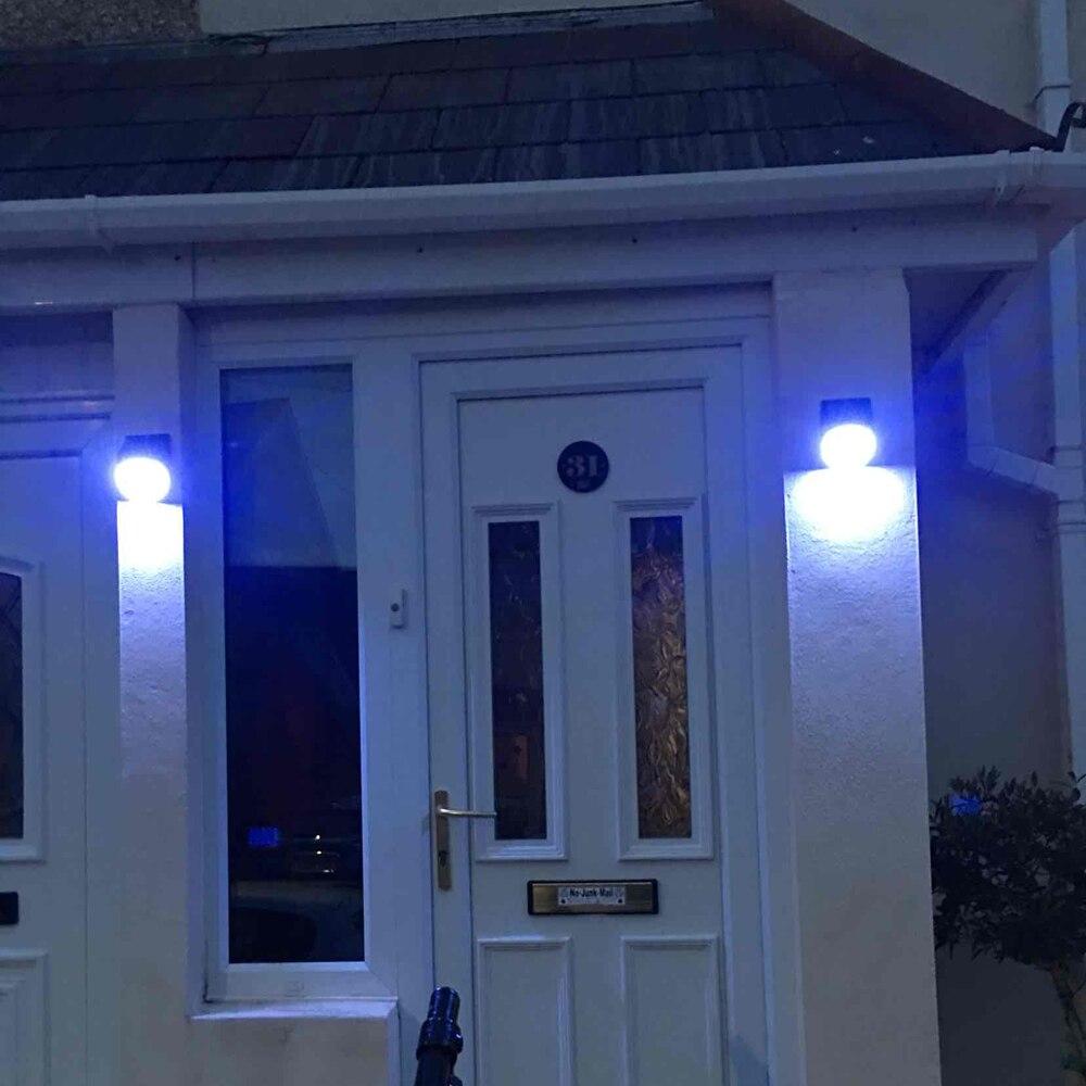 4 pacote led luzes solares 20 leds