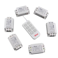 TOWE AP WSK1/D 6 3 wireless 220V 10A six way 3 controller through wall Villa remote control switch