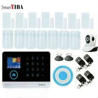 SmartYIBA ios Android app GSM Wireless Home Security Sprach home touch GSM Alarmanlage Russische Englisch 8 sprache
