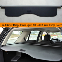 Rear Cargo Cover For Land Rover Range Rover Sport 2003 2012 privacy Trunk Screen Security Shield shade Auto Accessories