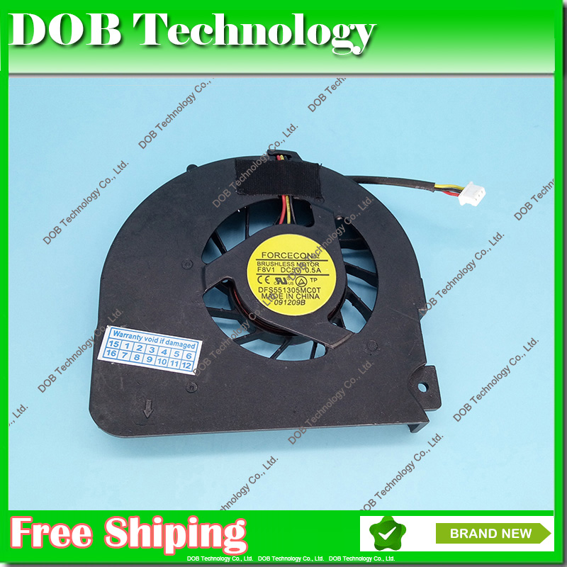 New laptop cpu cooling fan cooler for Acer Aspire 5536G 5236 5536 5738 5338 5738Z FAN P/N: MS2264 DFS551305MC0T F926 50 4cg15 001 lcd cable with touch screen port fit for acer 5738 5338 5538 5542 5536 series laptop motherboard