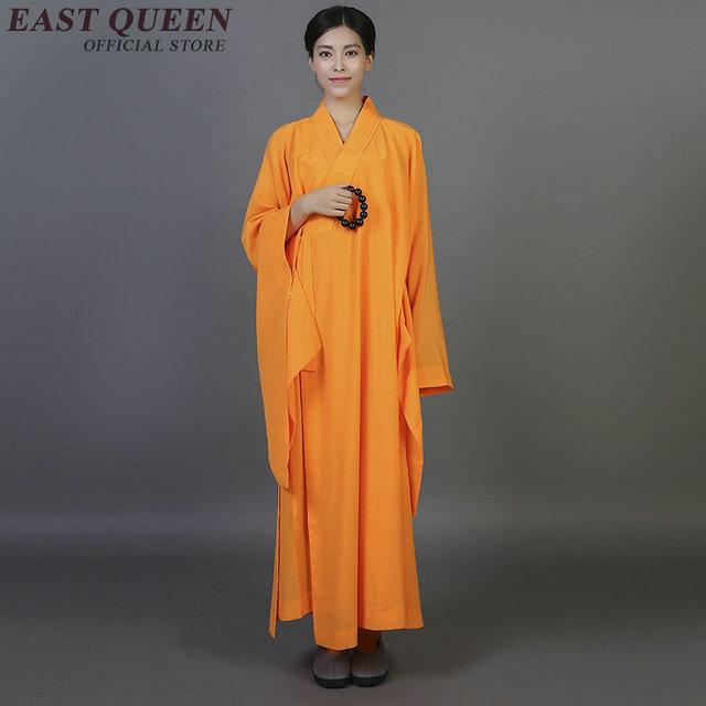 hot sales 91a71 70fd0 US $28.6 45% di SCONTO|Monaco buddista vesti abbigliamento costume shaolin  abbigliamento monaco buddista monaco vestiti uniforme meditazione ...