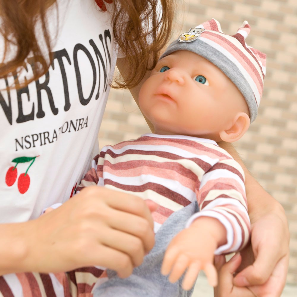 Ivita 21inch/4.9kg Girl High Quality Silicone Reborn Dolls Baby Born Full Body Alive Bath Doll XMAS Gift 2