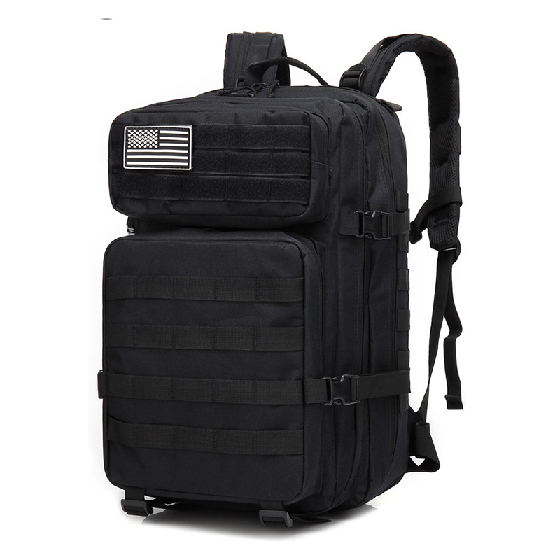 45L militaire tactique assaut Pack sac à dos armée Molle étanche Bug Out sac petit sac à dos pour la randonnée en plein air Camping chasse