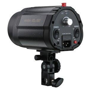 Image 4 - GODOX 160WS 160W Pro photographie éclairage lampe tête Photo Studio Flash Speedlite lumière stroboscopique 220 v/110 v