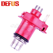 High Performance Fuel Injector Motorcycle Nozzle Injection 160cc/min 10 Holes Motorbike Fuel System Replacement Motor Parts Red