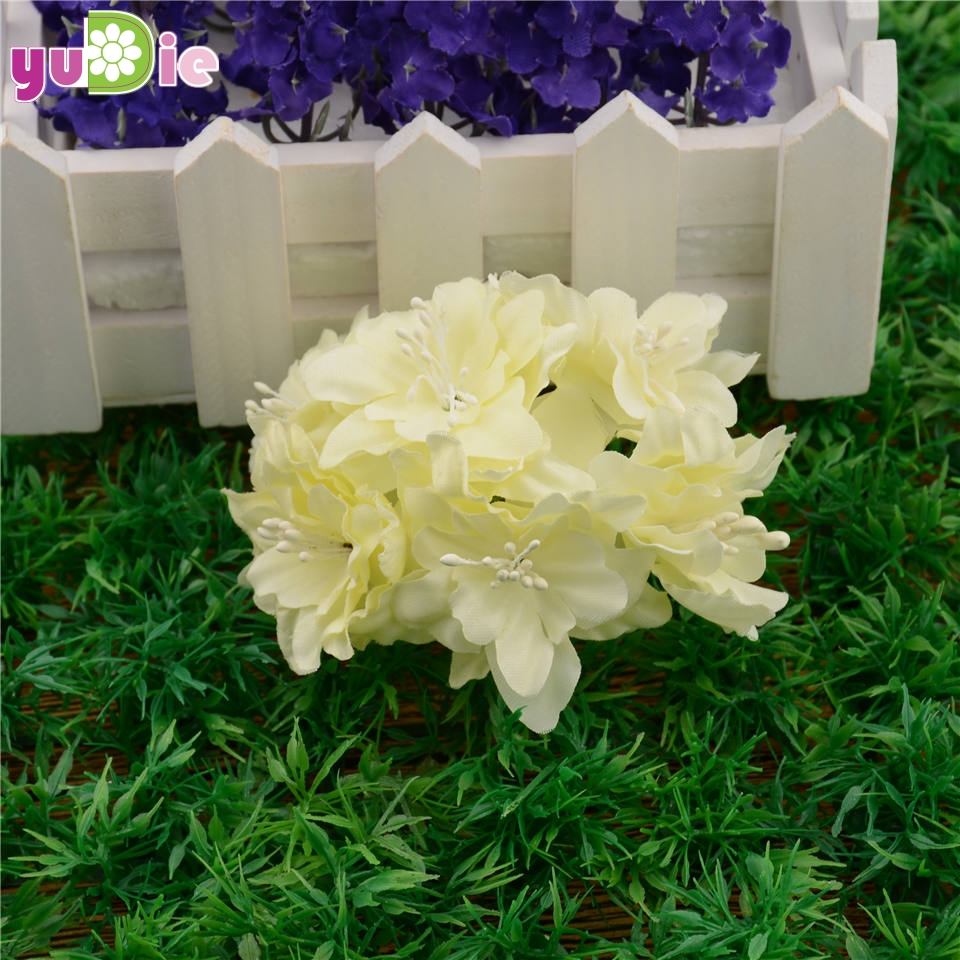 12pcslot 45cm cheap silk gradient artificial lily flower bouquet 12pcslot 45cm cheap silk gradient artificial lily flower bouquet for wedding decoration diy wreath scrapbooking craft flower in artificial dried flowers izmirmasajfo