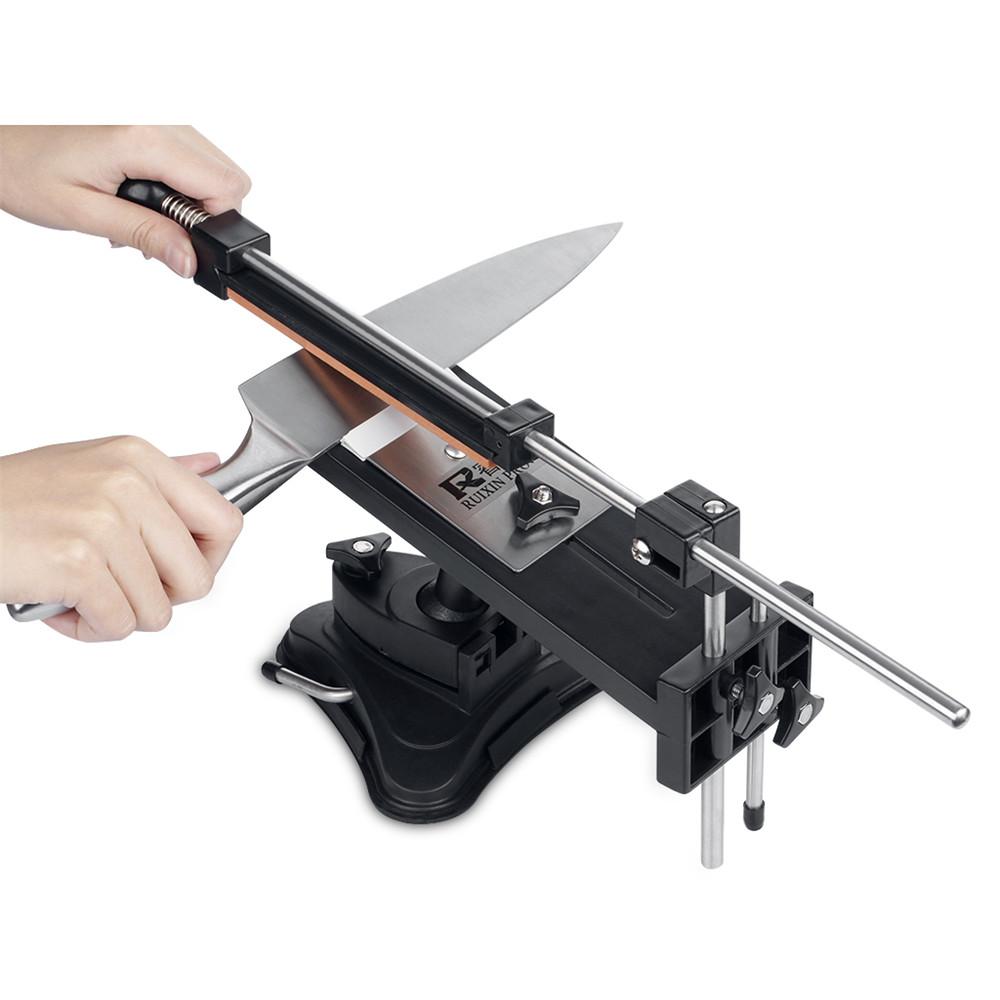 Ruixin Pro II Sharpener Update Chefs Professional Nejlepší Kuchyňský ostřící nůž Sharpener System Fix-angle 4 whetstones Nejlepší Promotion 6