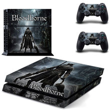 Bloodborne PS4 Stickers Skins For Playstation 4 Console and Two Controller Skin