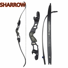 63 30-55lbs ILF Recurve Bow American Hunting Bows IBO 210FPS RH Archery Takedown For Outdoor Shooting Accessories