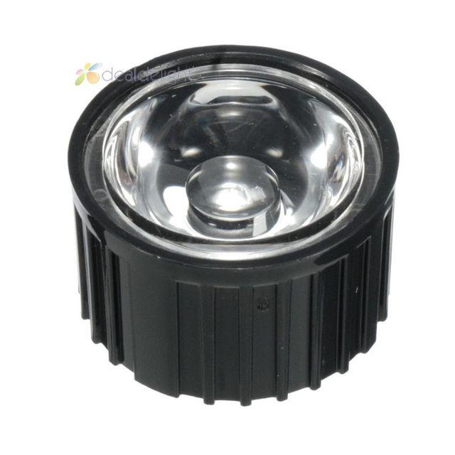 10pcs 20mm 90 degrees LED Lens Reflector For 1W 3W 5W High Power LED Lamp Light